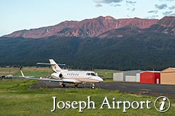 joseph oregon airport info