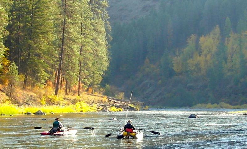 The scenic Grande Ronde River