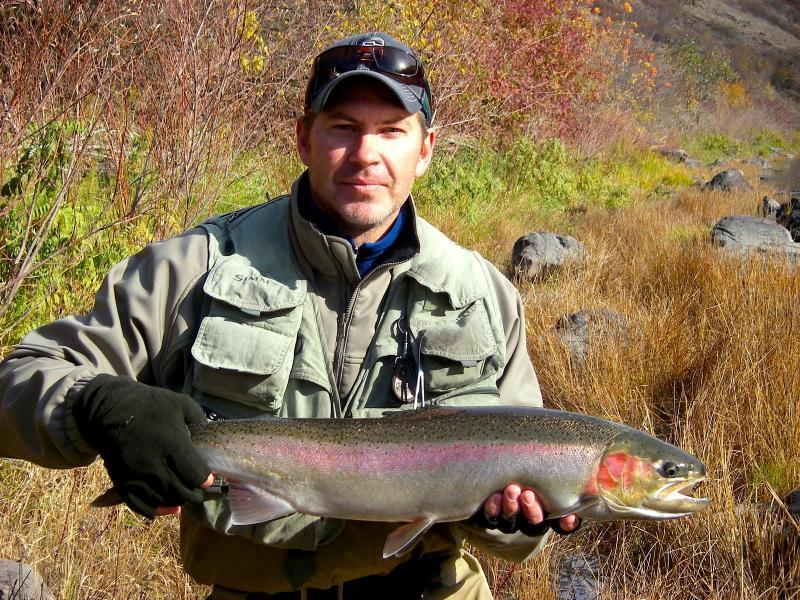 World-class Steelhead fishing on the Grande Ronde