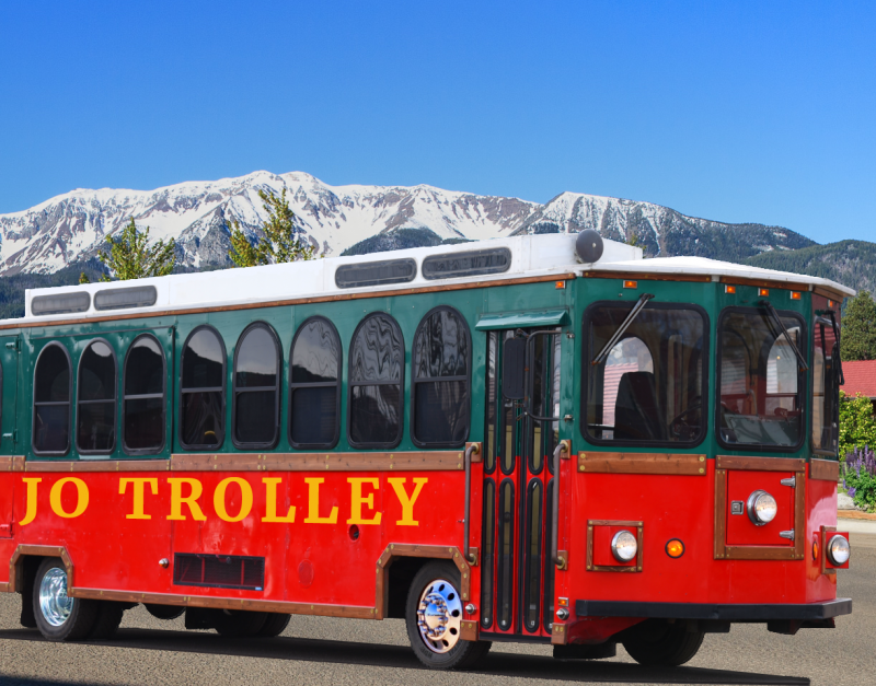 JO Trolley - Scenic Canyon Overlook Trolley Tours